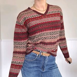 Vintage lambs wool sweater